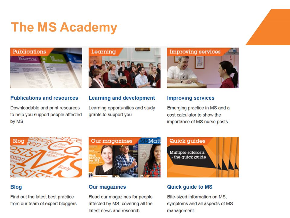 The MS Academy
