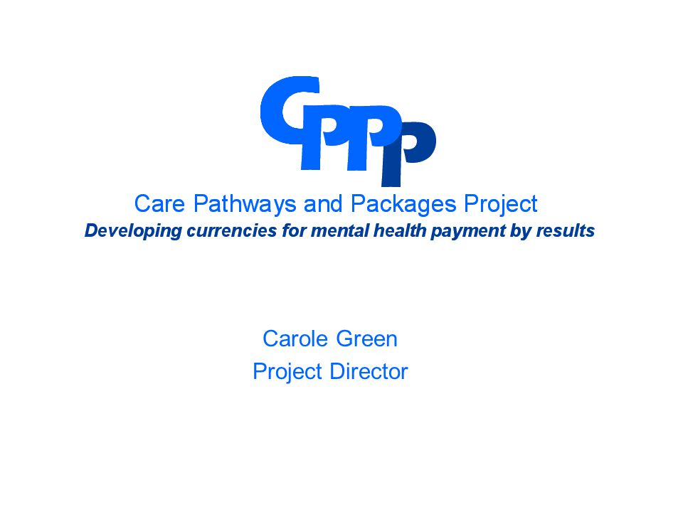 Carole Green Project Director