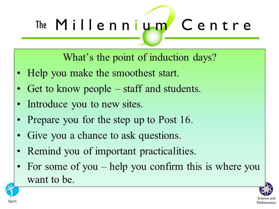 What is the Millennium Centre.
