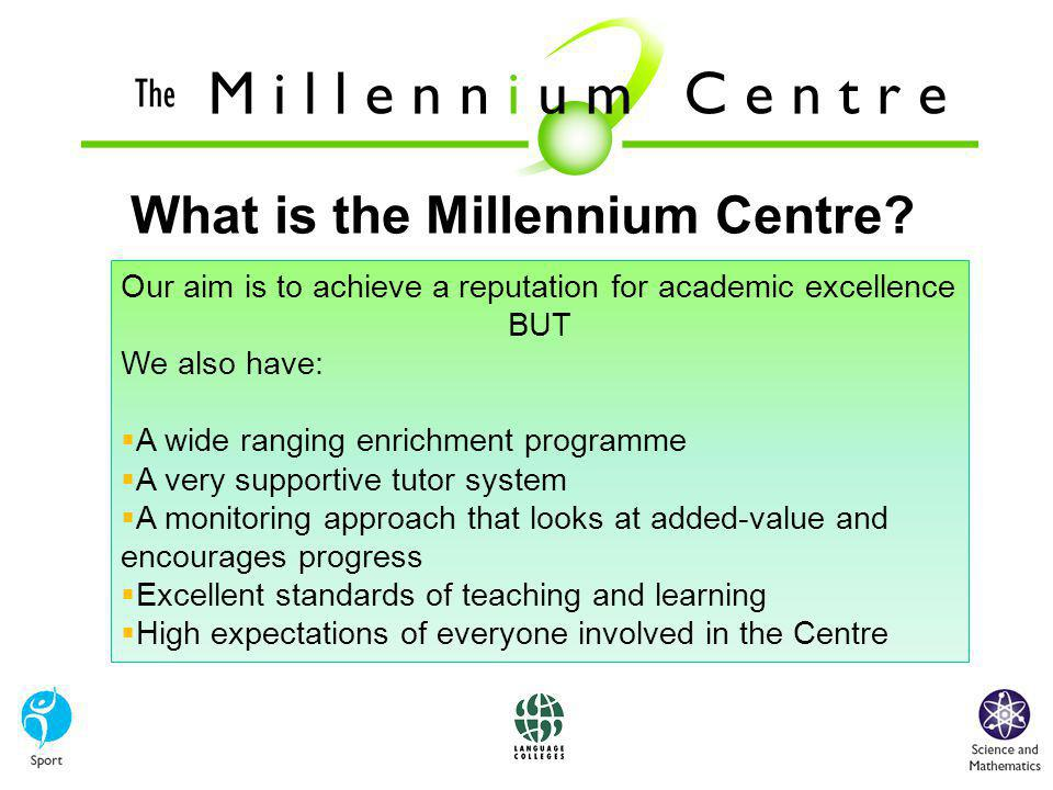 What is the Millennium Centre.