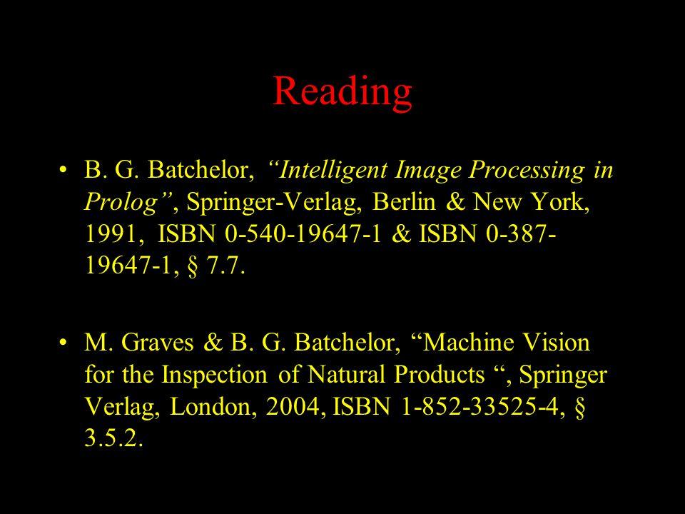 Reading B. G.
