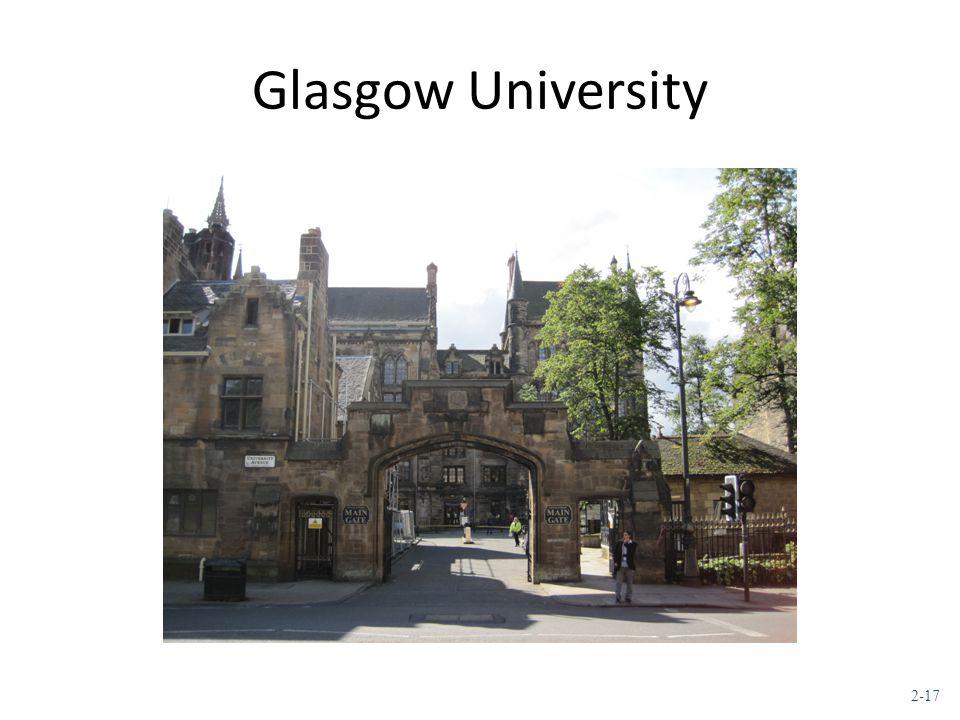 2-17 Glasgow University