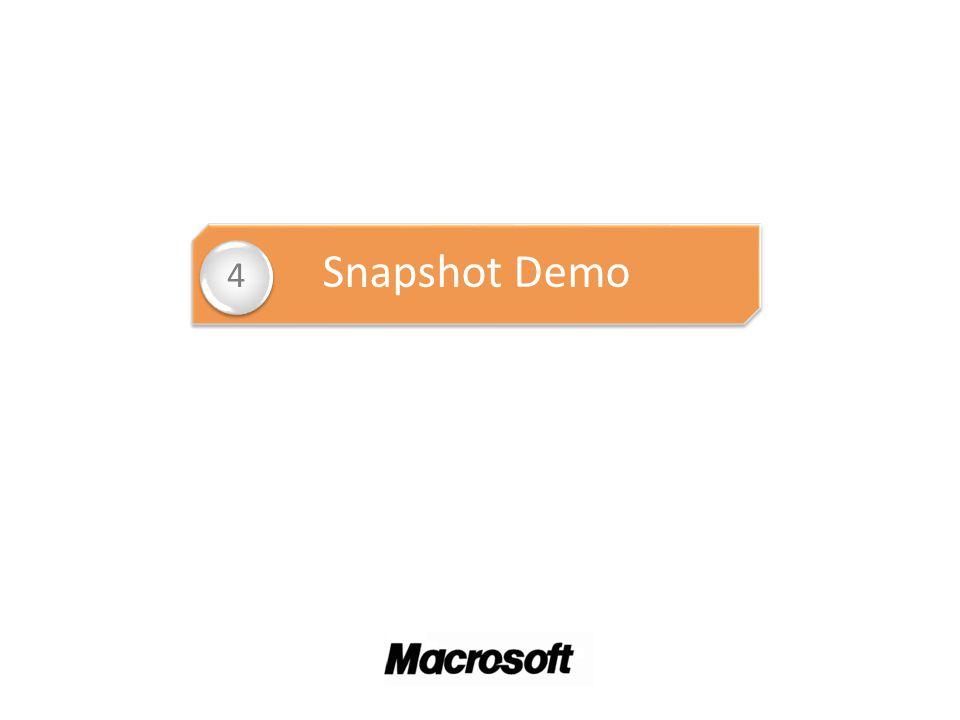 Snapshot Demo 4