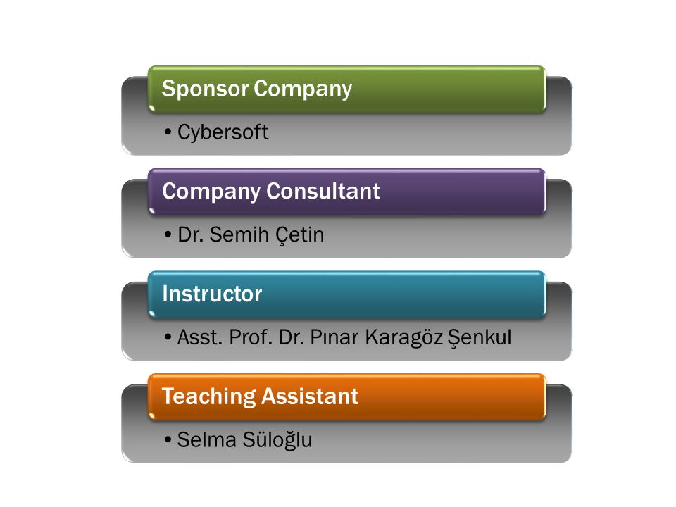 Cybersoft Sponsor Company Dr. Semih Çetin Company Consultant Asst.