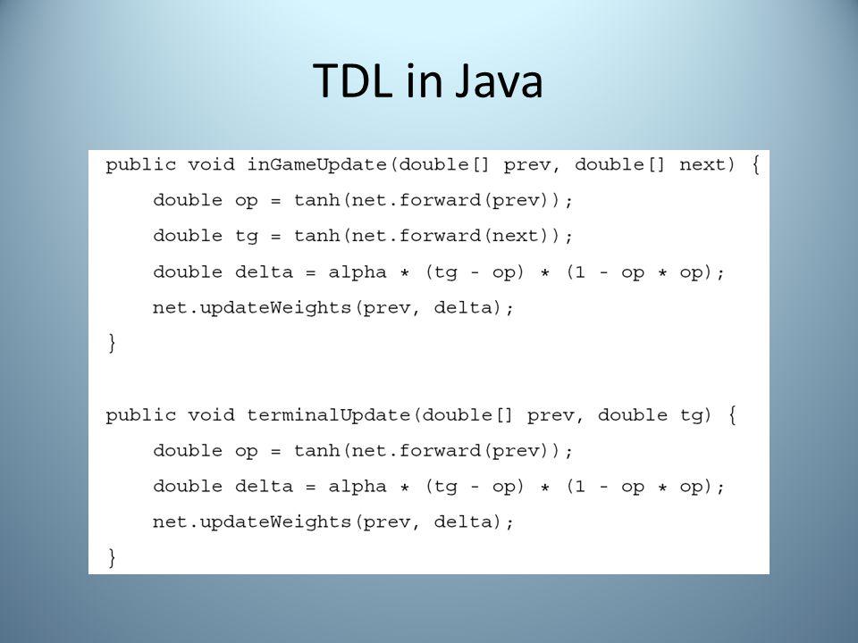 TDL in Java