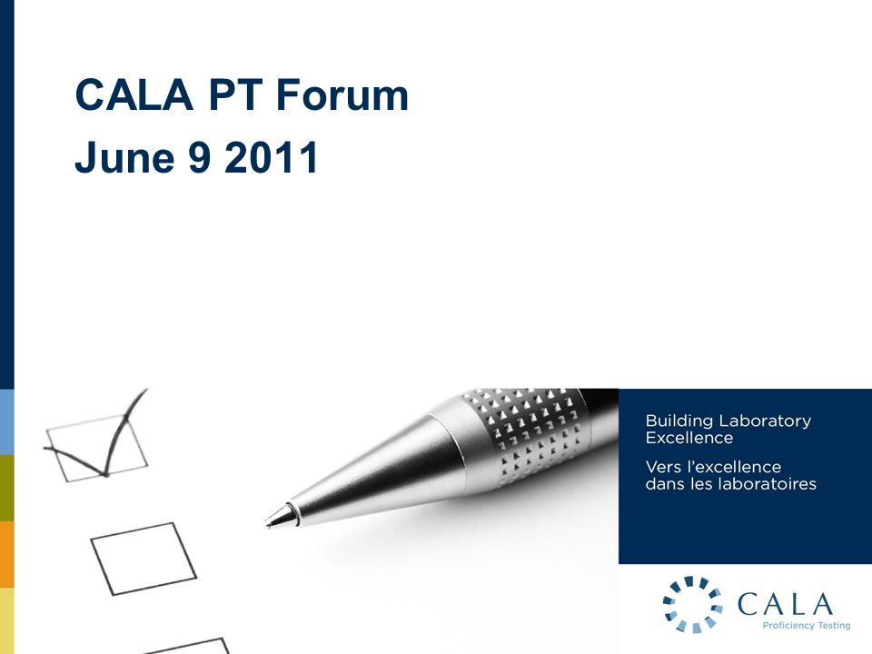 AGENDA 1.Changes to the PT Program since 2004.2.Open discussion on effectiveness of these changes.