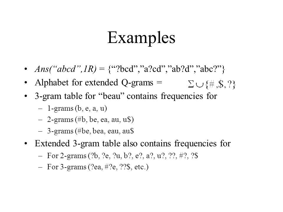 Experimetal Evaluation