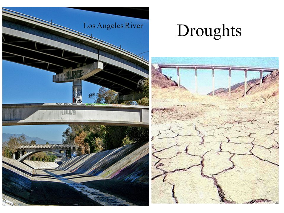 Droughts Los Angeles River
