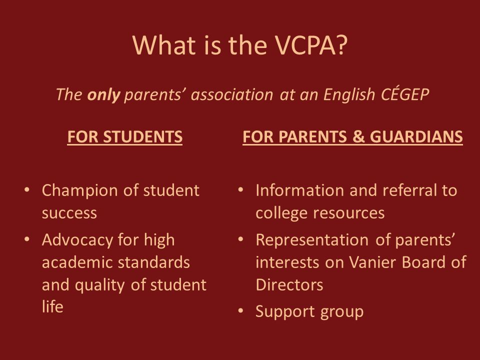 What is the VCPA.
