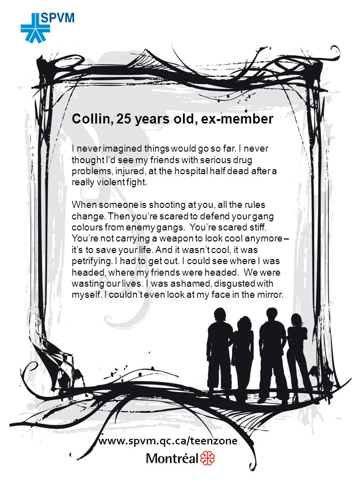 Collin, 25 years old, ex-member I never imagined things would go so far.