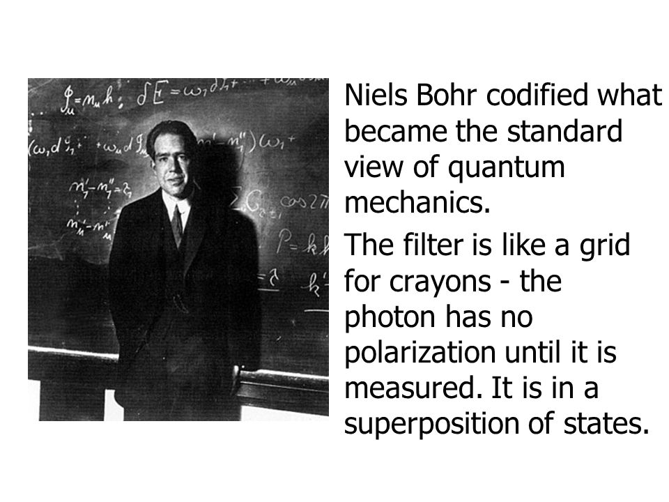 Niels Bohr codified what became the standard view of quantum mechanics.