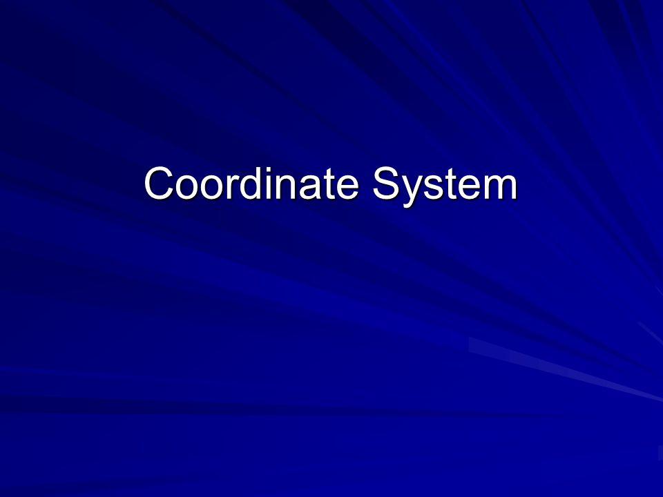 Coordinate System