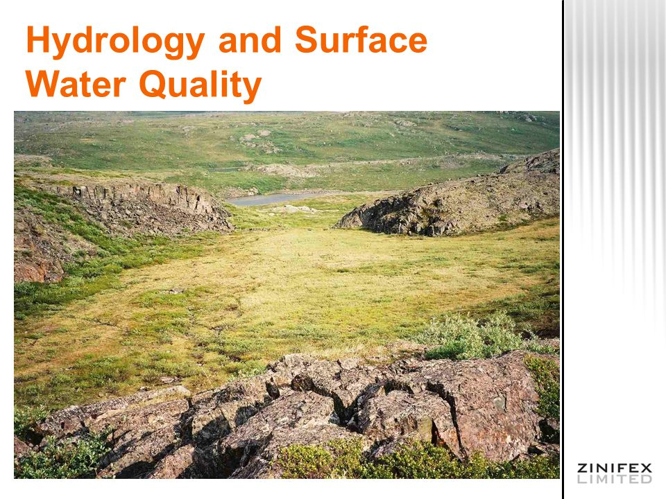 Hydrology and Surface Water Quality