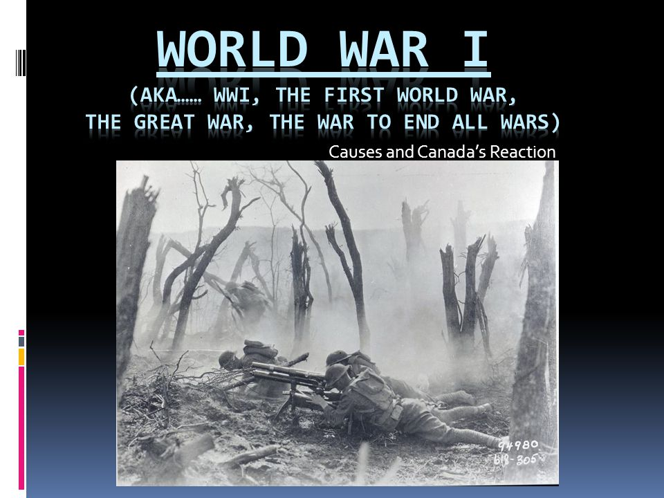 CANADA'S RESPONSE  CANADA'S FOREIGN POLICY => British controlled  If Britain = war => Canada = war  Ready, Aye Ready.