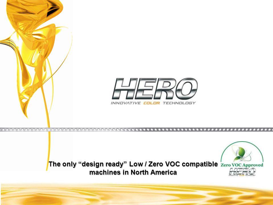 The only design ready Zero VOC Automatic Colorant Dispensers in North America A Global Company