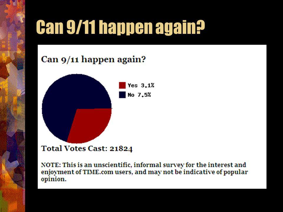 Can 9/11 happen again?