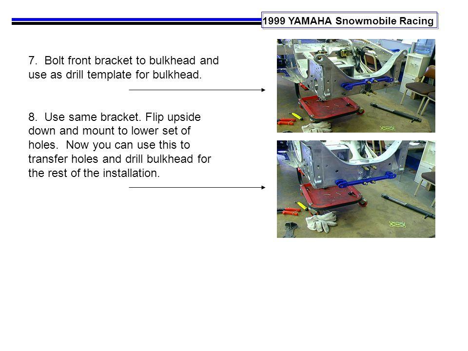 1999 YAMAHA Snowmobile Racing 7.