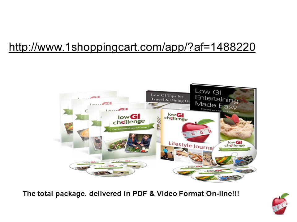 http://www.1shoppingcart.com/app/ af=1488220 The total package, delivered in PDF & Video Format On-line!!!