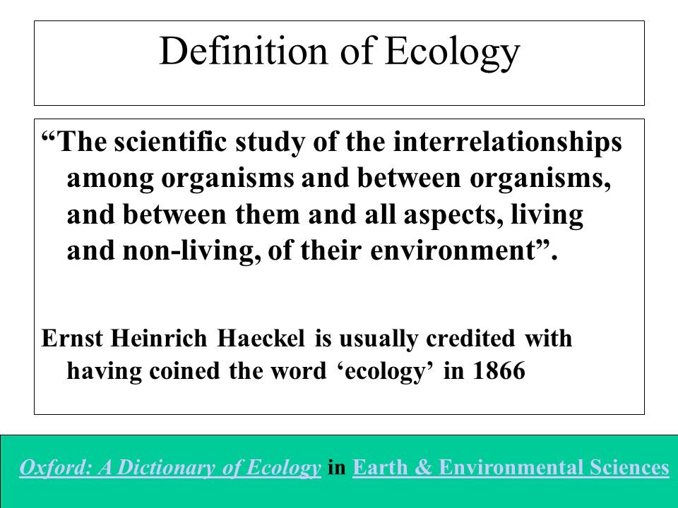 Definition of Hydroecology A branch of ecology that emphasizes on the effects on hydrological processes on living and non-living organisms and their interrelationships in terrestrial ecosystems.