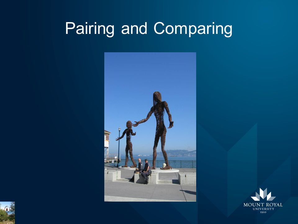 Pairing and Comparing