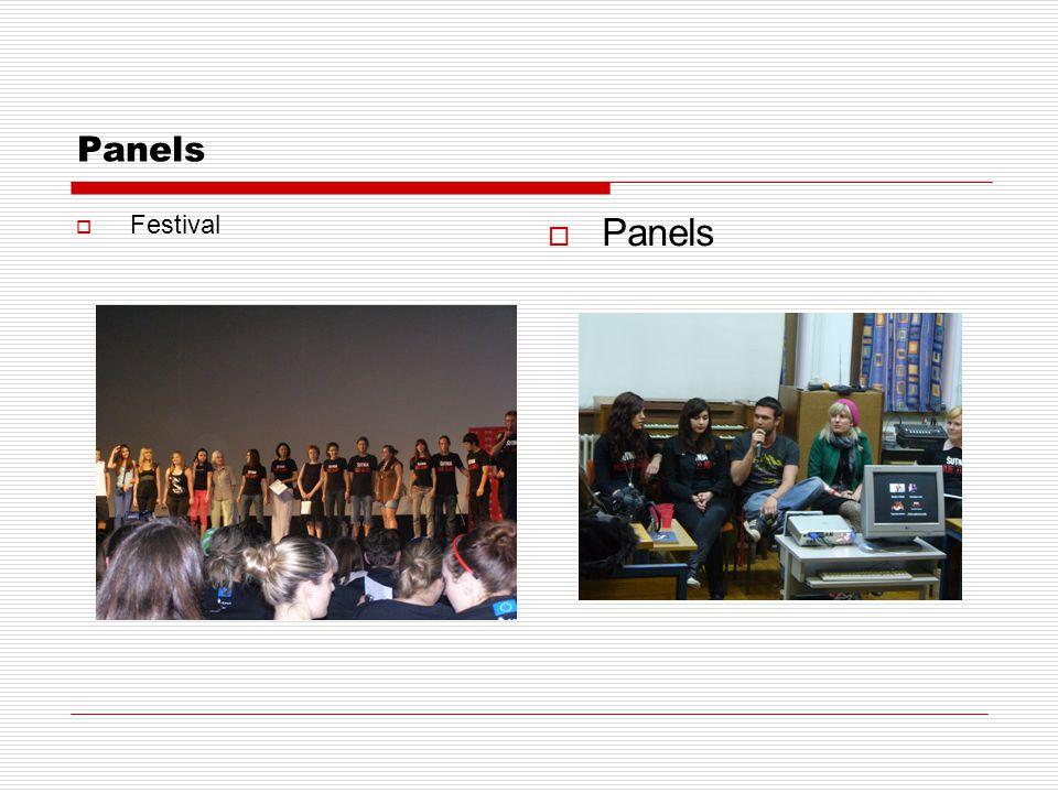 Panels  Festival  Panels