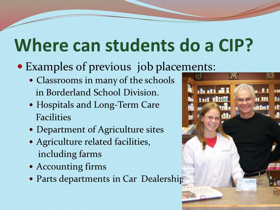 CIP Experiences Fun in the classroom