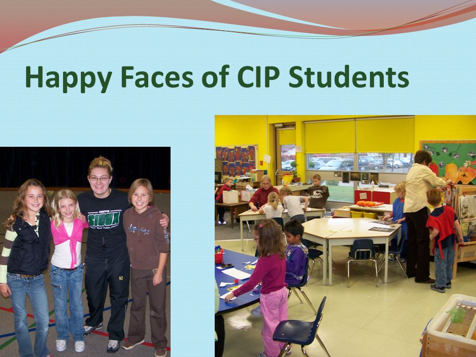 Happy Faces of CIP Students