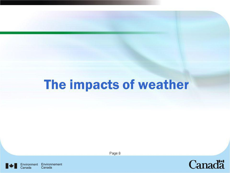 Page 8 The impacts of weather