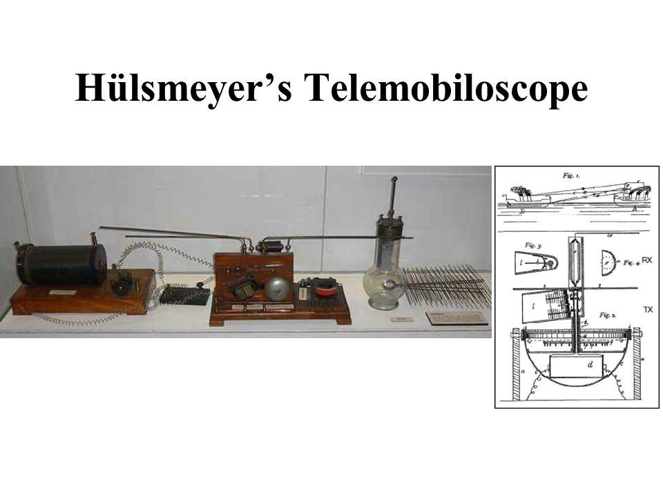 Hülsmeyer's Telemobiloscope