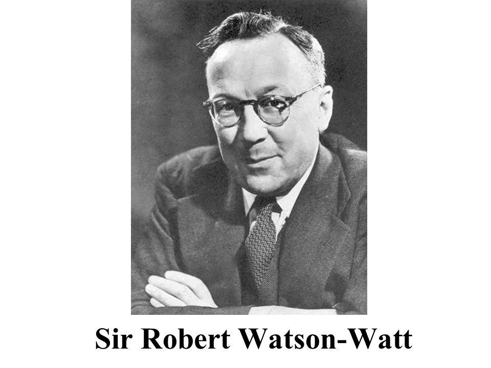 Sir Robert Watson-Watt