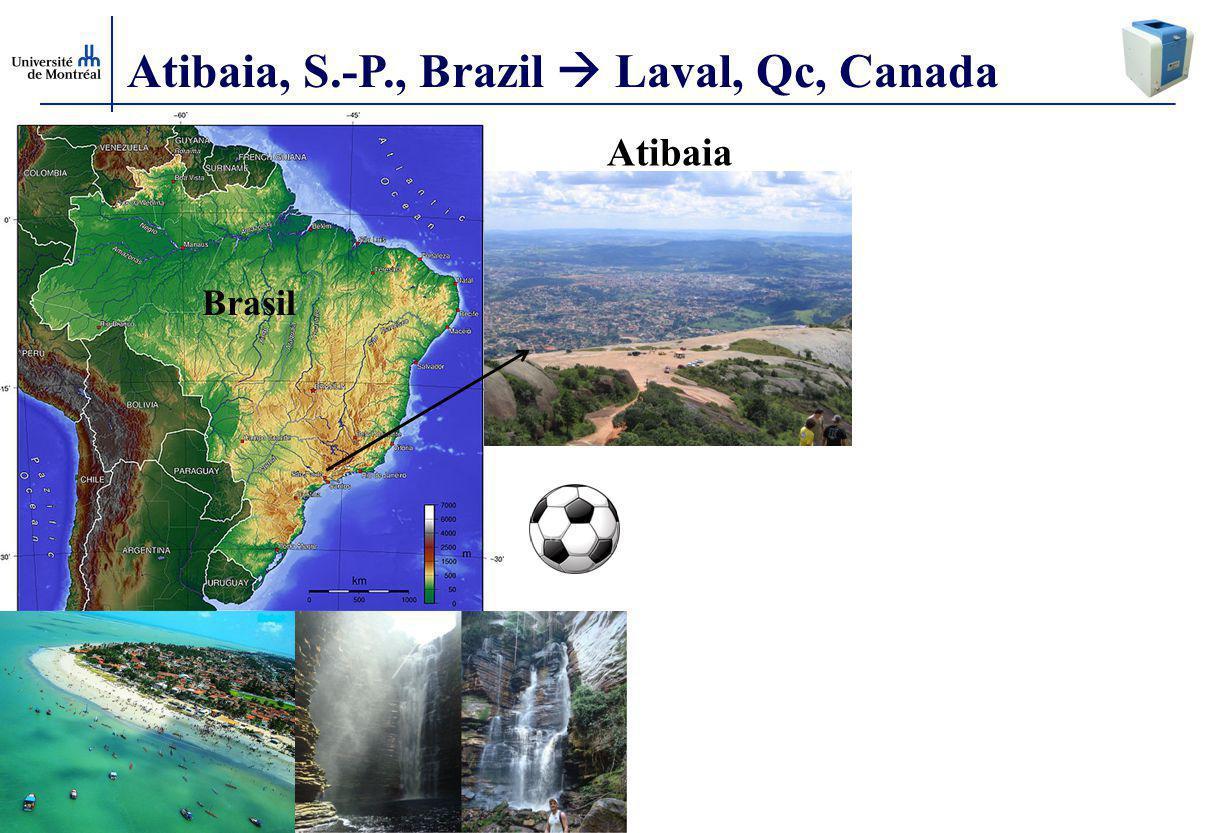 Atibaia, S.-P., Brazil  Laval, Qc, Canada Atibaia Brasil