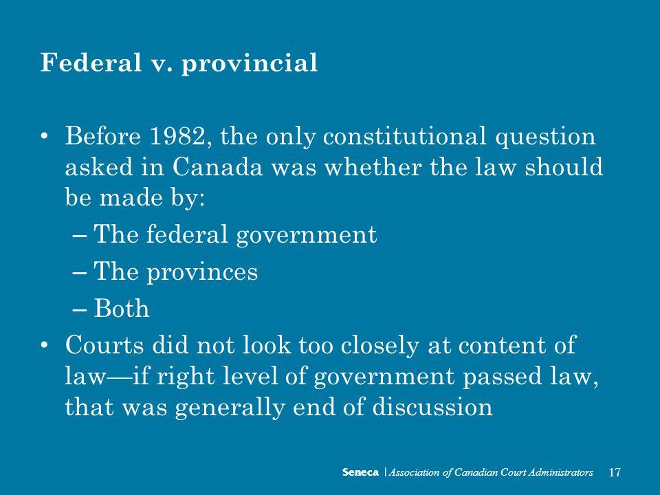 Federal v.