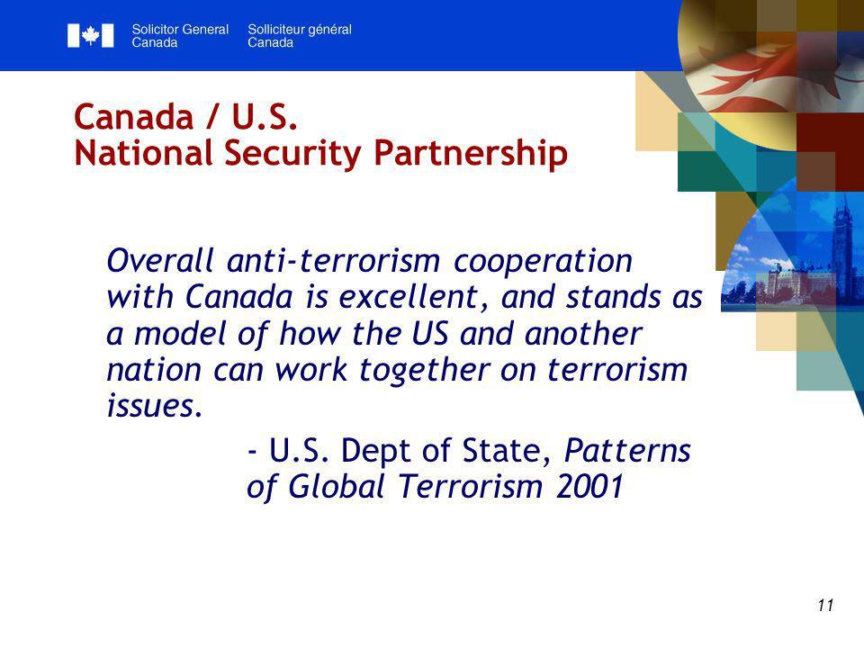11 Canada / U.S.