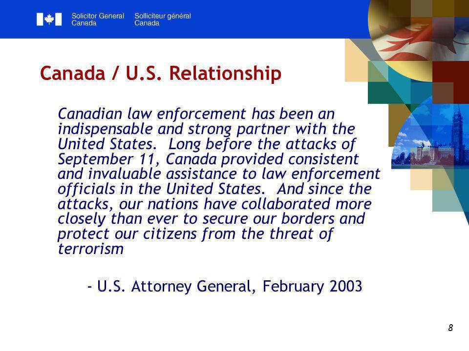 8 Canada / U.S.