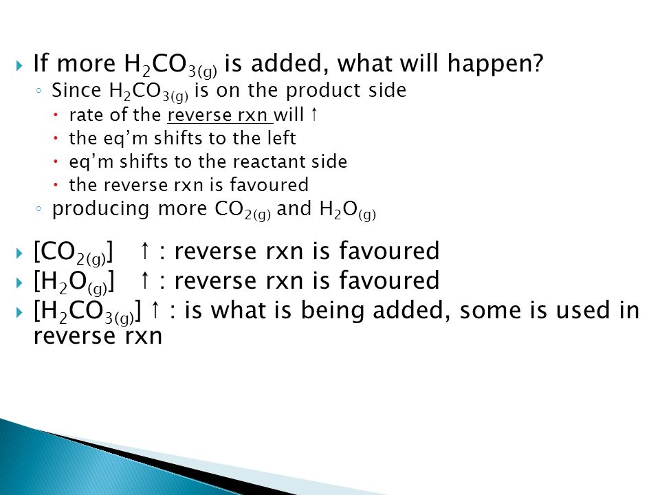 StressShifts to:Forms more:Value of K eq add catalyst none no change [ ] ↑ i.of reactant ii.of product i.Right ii.Left i.Product ii.Reactant i.No change ii.No change Pressure (Gases) i.↑ ii.↓ i.side with less mole (g) ii.side with more mole (g) i.side with less mole (g) ii.side with more mole (g) i.No change ii.No Change Temp ↑ i.Exothermic ii.Endothermic i.Left ii.Right i.Reactant ii.Product i.Decrease ii.Increase Temp ↓ i.Exothermic ii.Endothermic i.Right ii.Left i.Product ii.Reactant i.Increase ii.Decrease