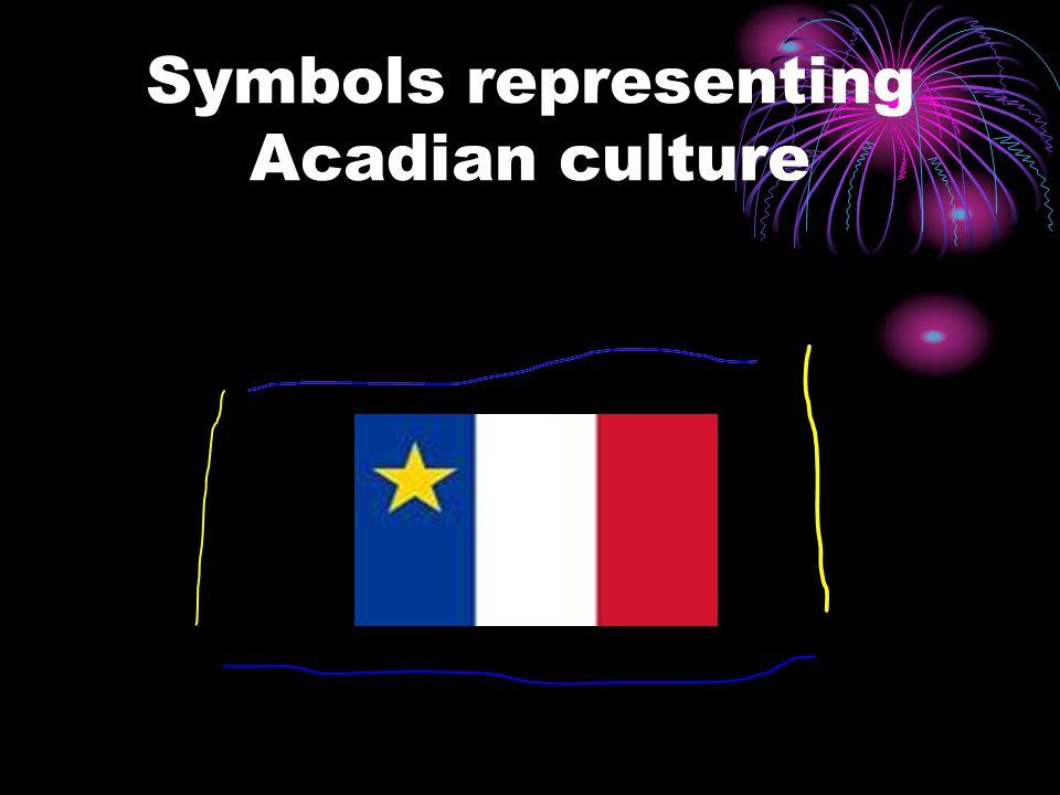 Symbols representing Acadian culture