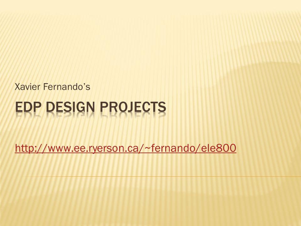 Xavier Fernando's http://www.ee.ryerson.ca/~fernando/ele800