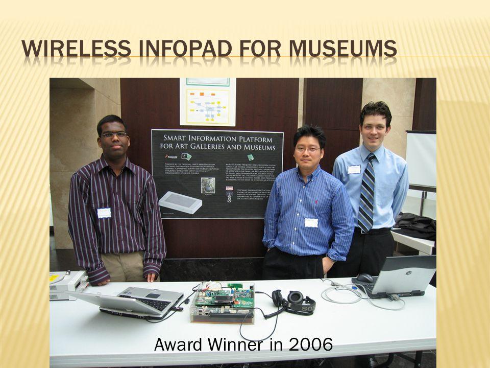 Award Winner in 2006