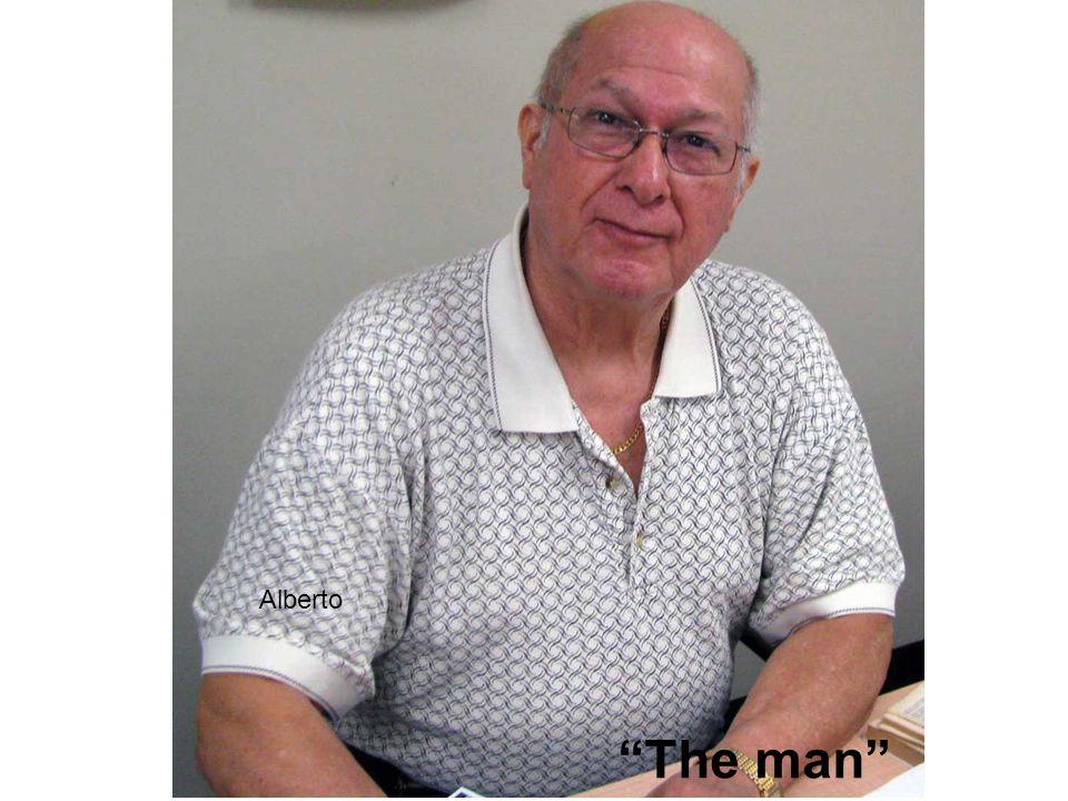 Alberto The man