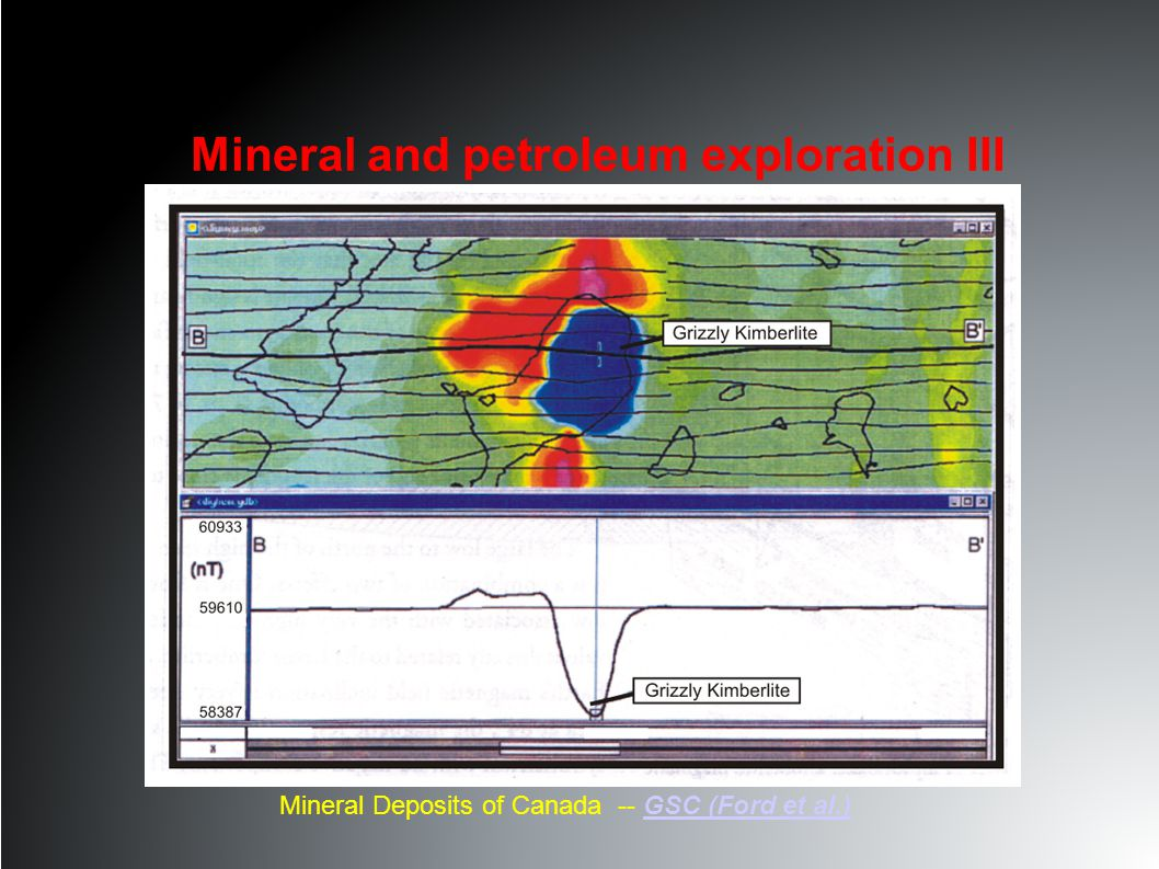 Mineral Deposits of Canada -- GSC (Ford et al.)GSC (Ford et al.) Lac de Gras Mineral and petroleum exploration III