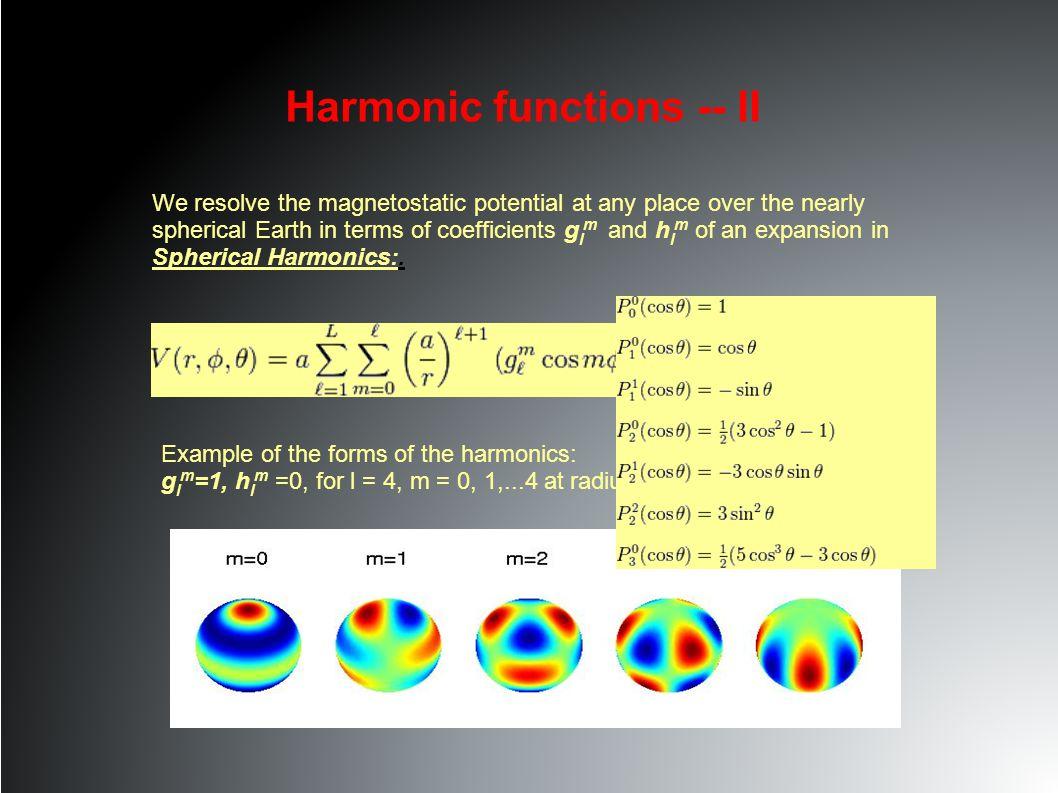 Harmonic functions -- III