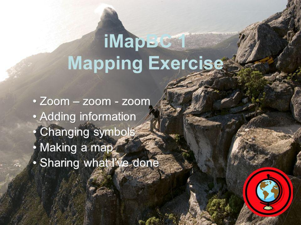 iMapBC 1 Mapping Exercise