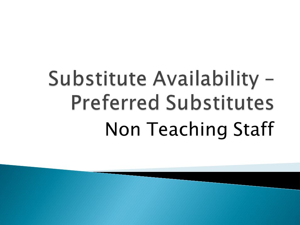 Non Teaching Staff