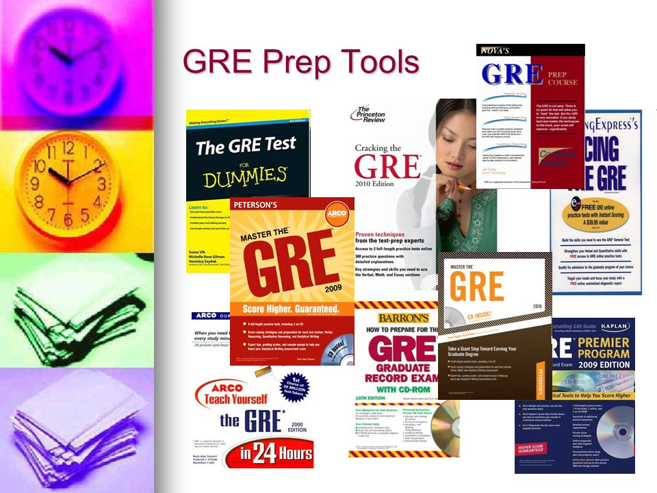 GRE Prep Tools