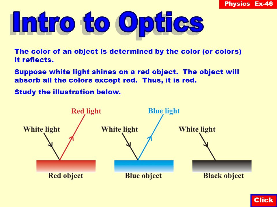 Physics Ex-46 Red, green and blue light (RGB) are called the primary colors.