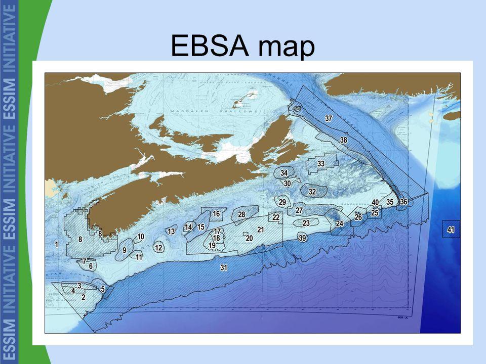 EBSA map