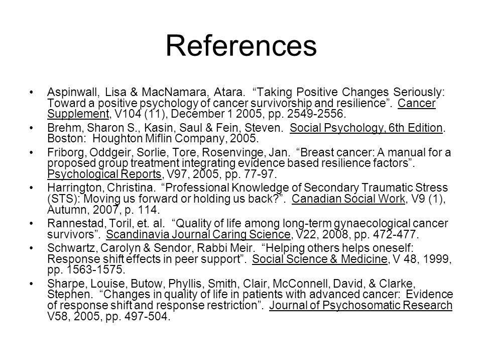 References Aspinwall, Lisa & MacNamara, Atara.