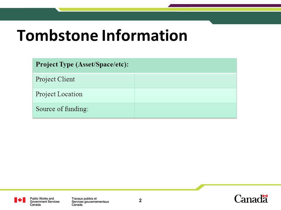 3 Background Information Project scope, background, etc…