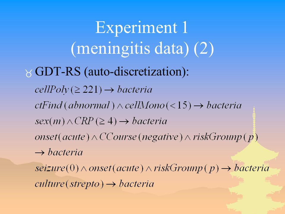 Experiment 1 (meningitis data) (2) _ GDT-RS (auto-discretization):