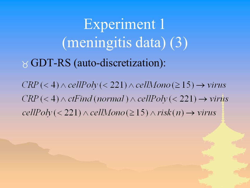 Experiment 1 (meningitis data) (3) _ GDT-RS (auto-discretization):